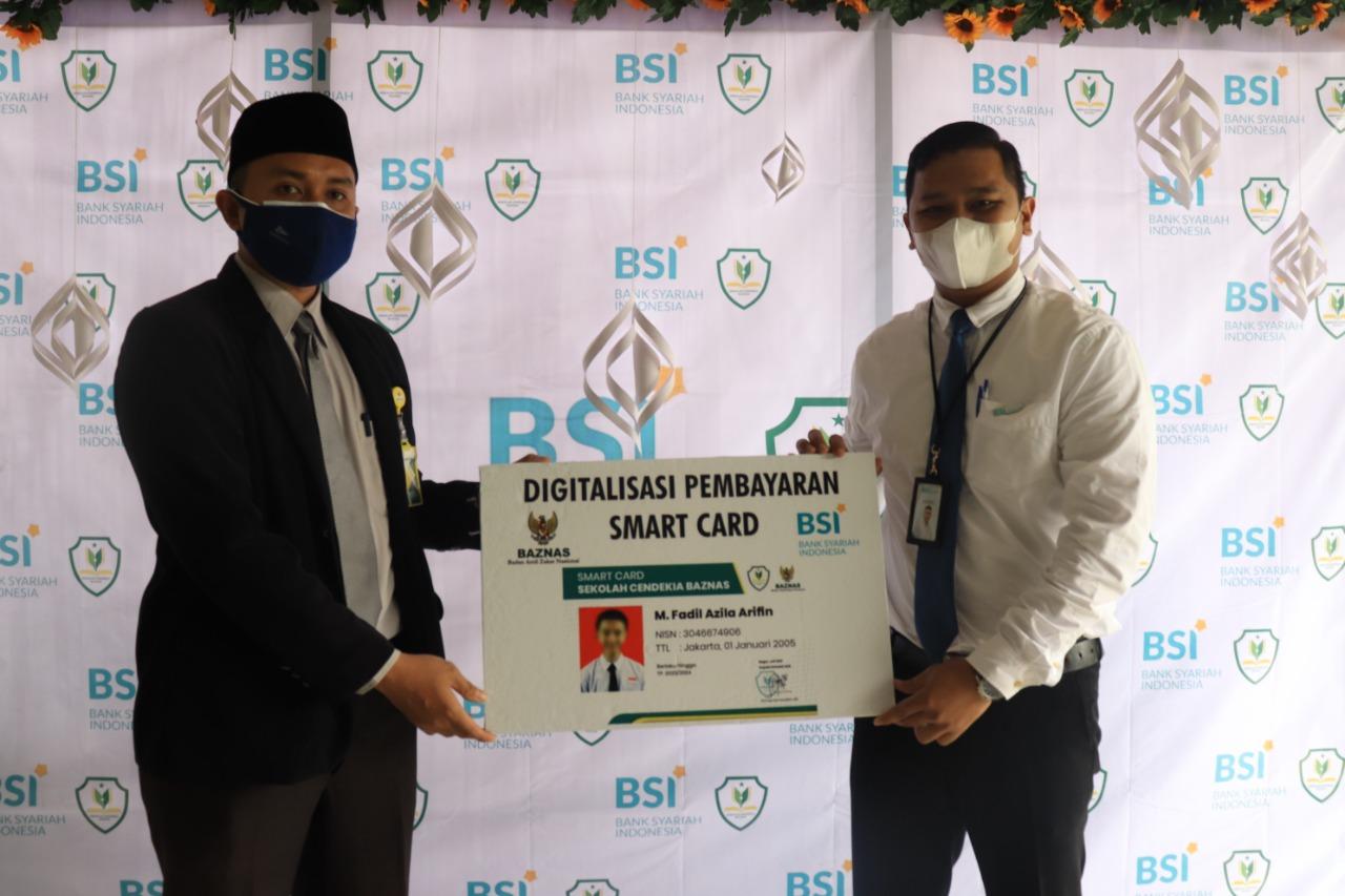 Sekolah Cendekia BAZNAS luncurkan smart card pertama di Indonesia