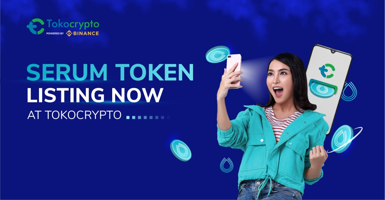 Inisiatif decentralized finance, Tokocrypto rilis token SERUM