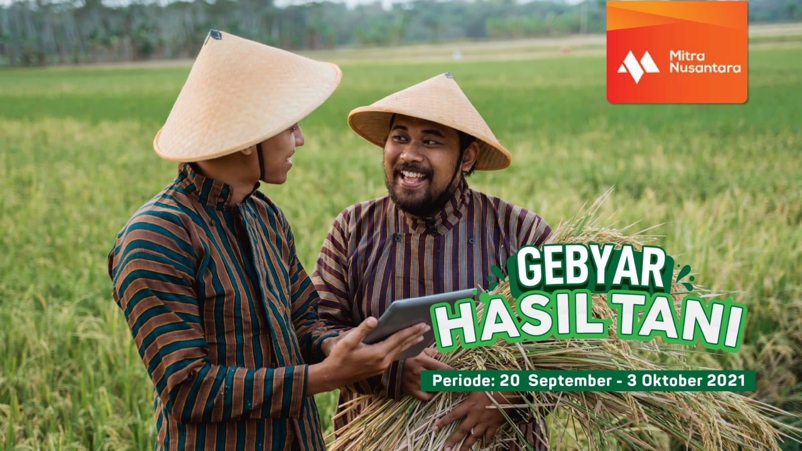 Rayakan Hari Tani Nasional, Rarali.com-MBN bantu petani lewat Gebyar Hasil Tani