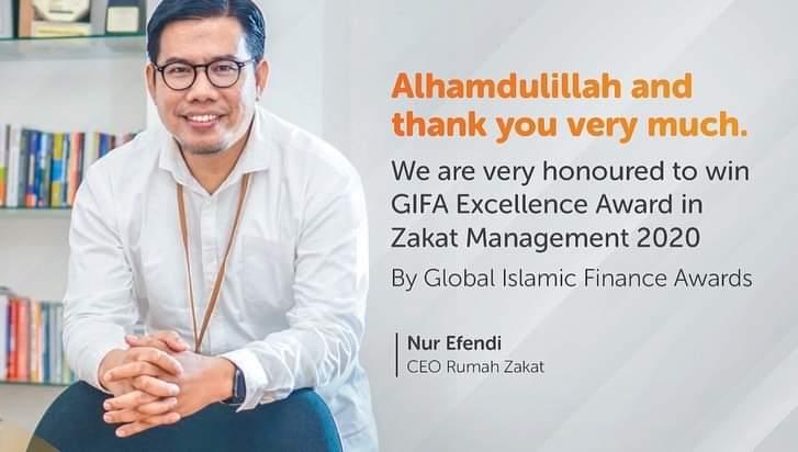 Rumah Zakat raih GIFA Awards 2020 kategori Zakat Management