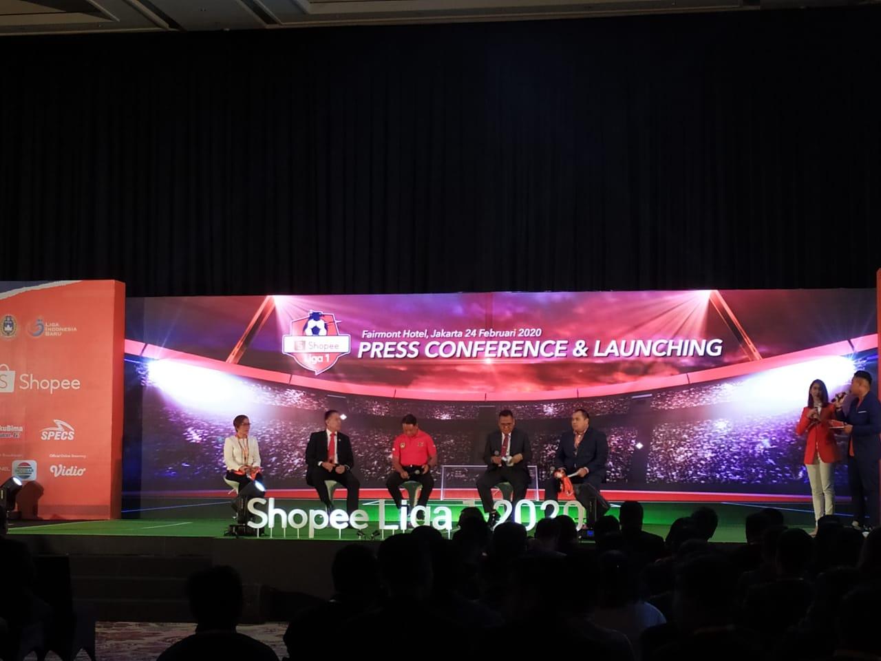 EMTEK tegaskan rincian hak siar eksklusif Shopee Liga 1 2020