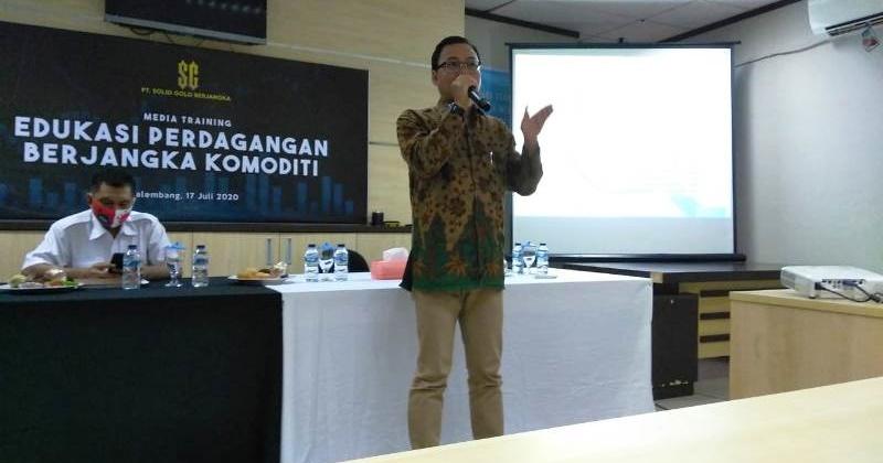 Gandeng media, SGB Palembang sosialisasikan perdagangan berjangka komoditi