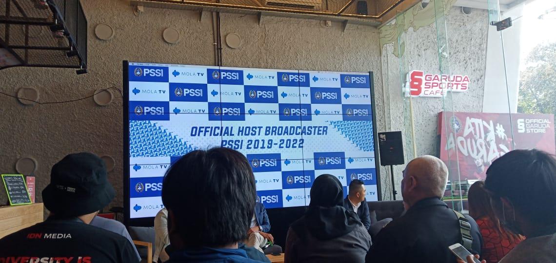 PSSI dan Mola TV jalin kerjasama tayangkan Timnas Indonesia