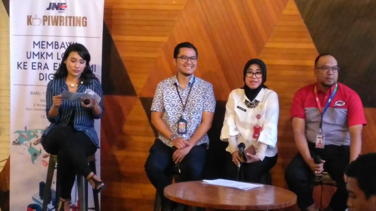 JNE bekali UMKM di Kota Malang menuju era ekonomi digital