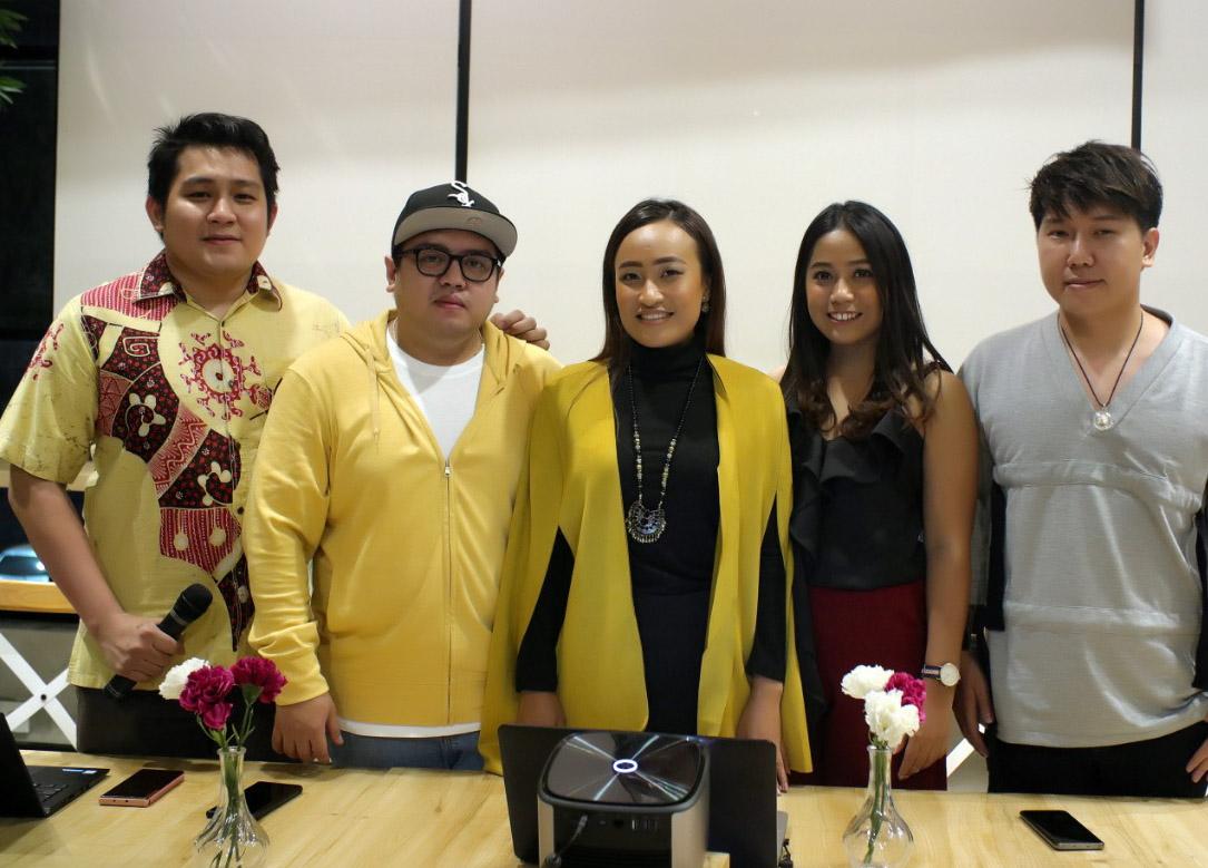 Aplikasi undian pertama di Indonesia