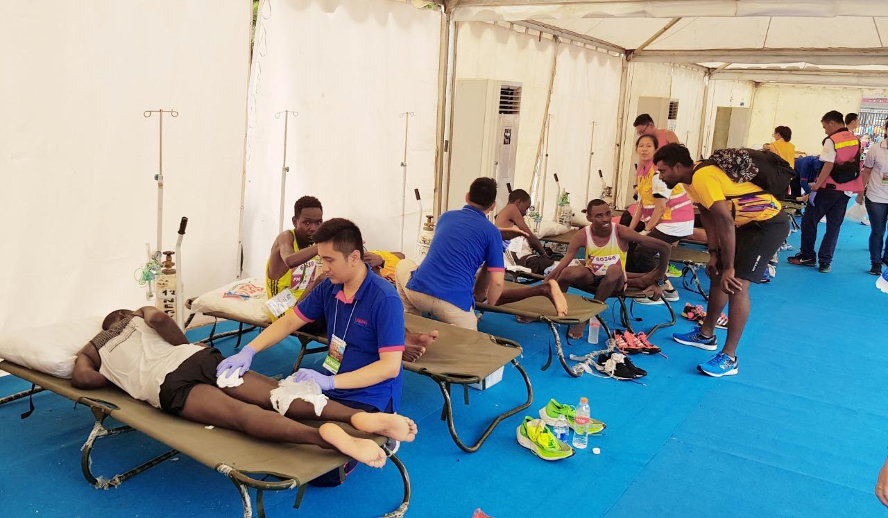 Omni Hospitals turut sukseskan Electric Jakarta Marathon 2019