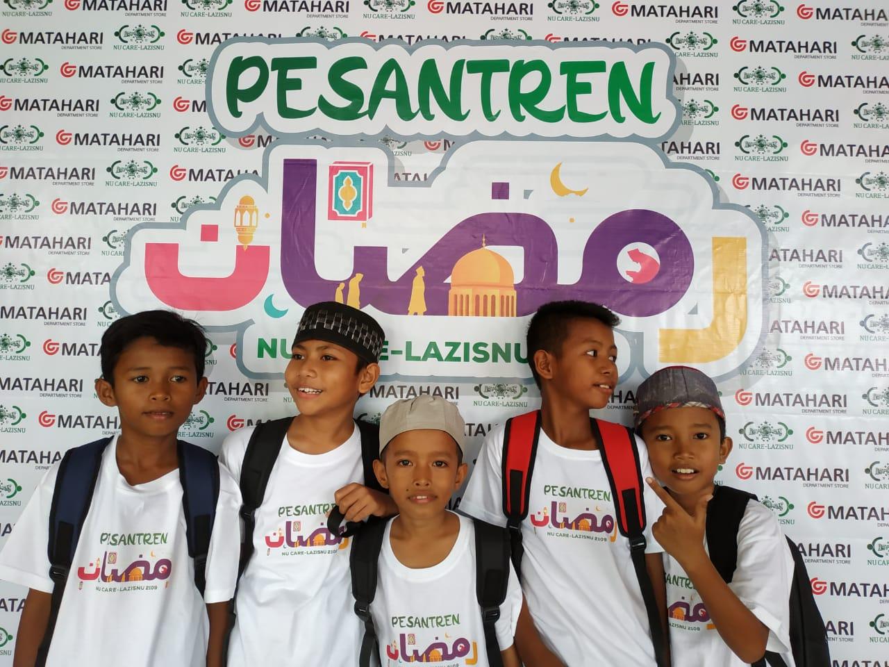 NU CARE-Matahari Dept. Store gelar Pesantren Ramadan bagi anak penyintas gempa dan tsunami