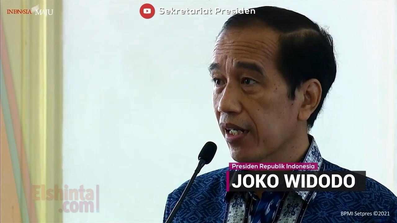 Jokowi: Cintai produk Indonesia, benci produk asing