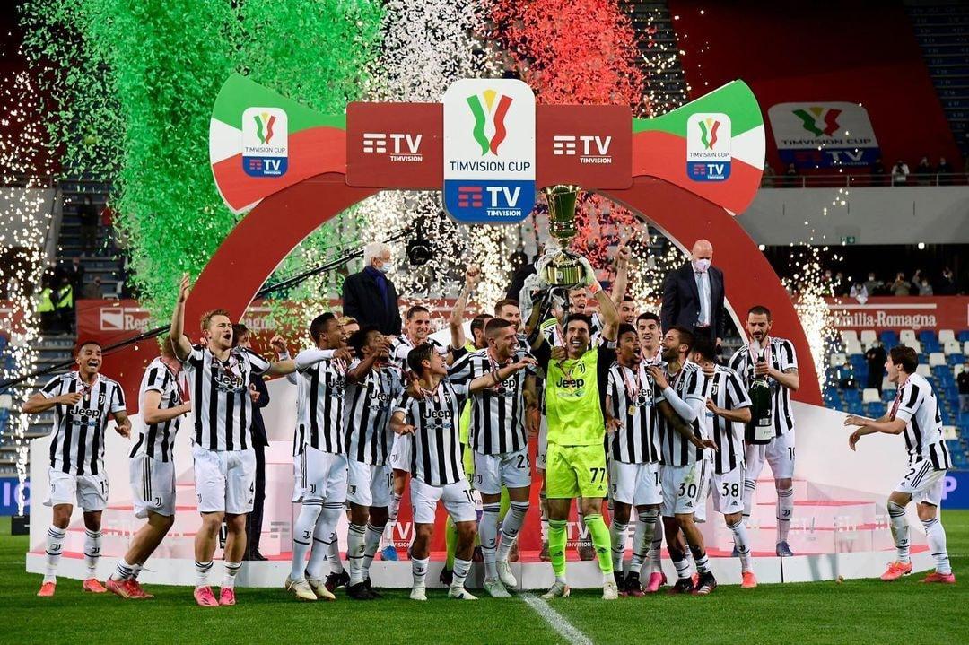 Juventus juarai Coppa Italia setelah mengalahkan Atalanta