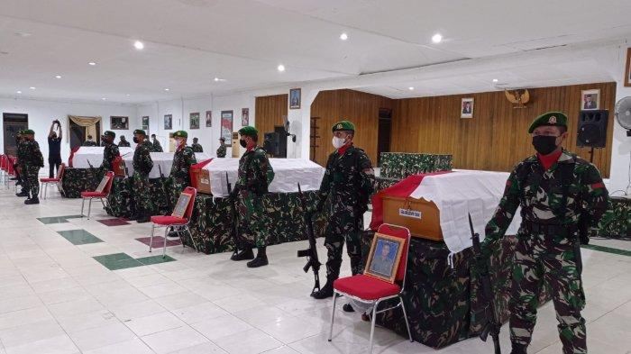 Insiden penyerangan di Papua Barat, 4 prajurit TNI gugur