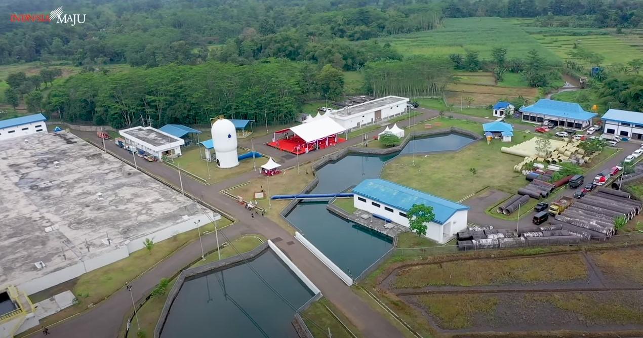 Jokowi resmikan Sistem Penyediaan Air Minum Umbulan, Pasuruan