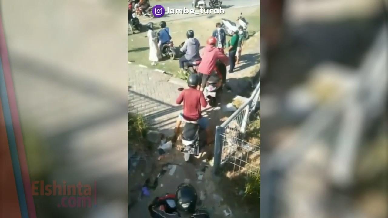 Viral warga menghindari tes swab di Suramadu