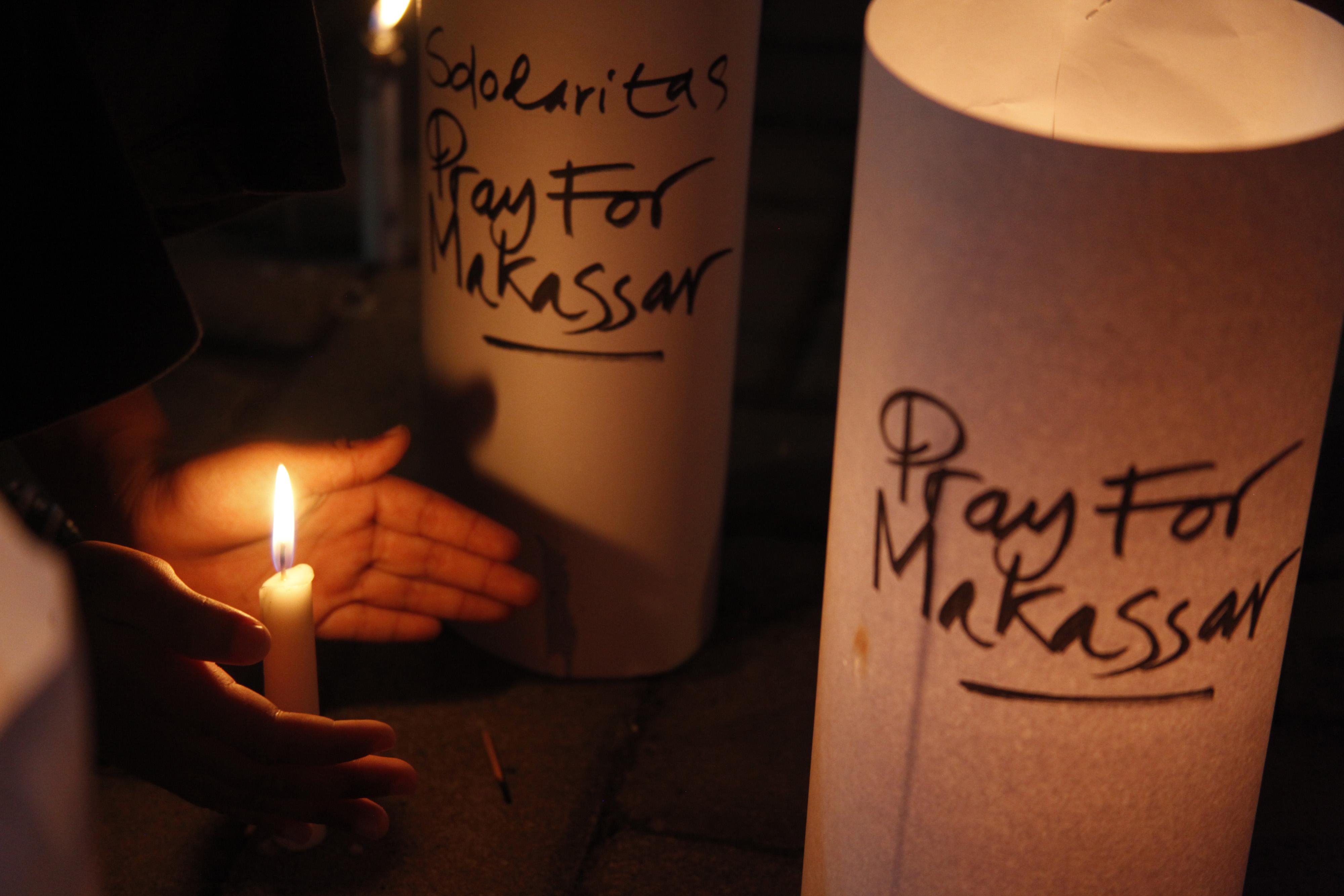 Pernyataan Presiden Jokowi terkait aksi terorisme di Makassar