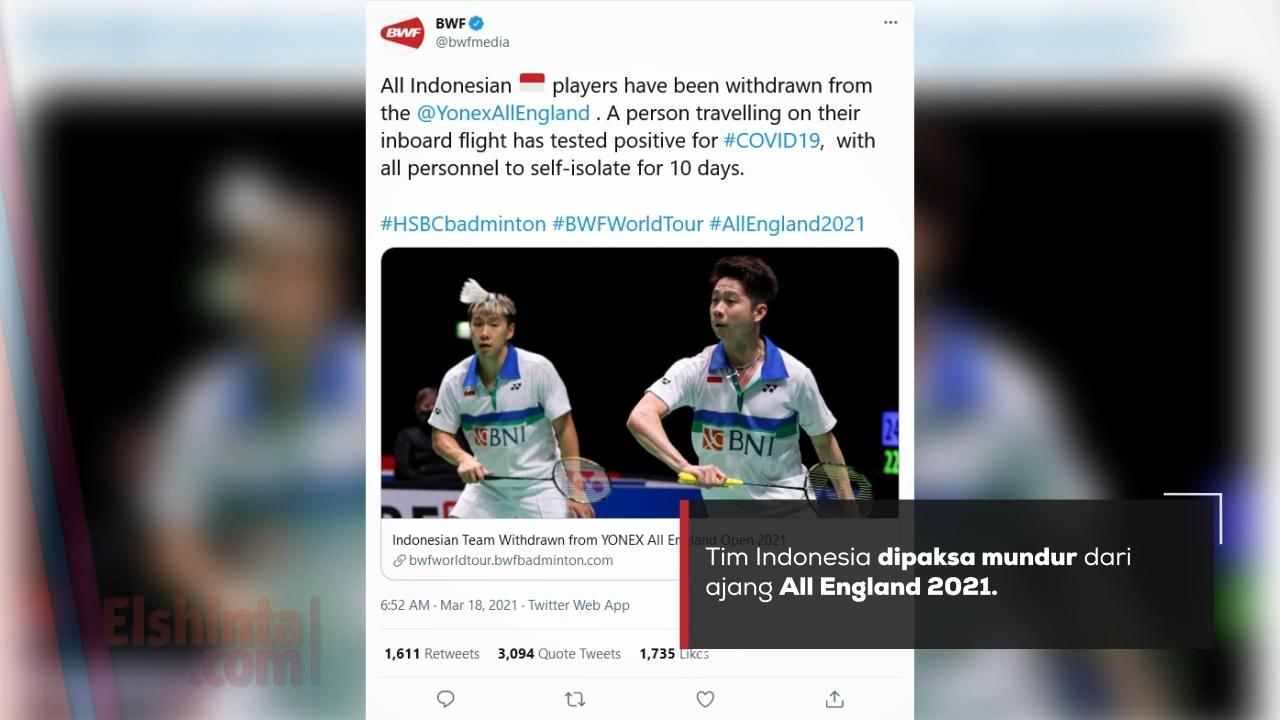 Tuntut keadilan, netizen Indonesia serbu twitter BWF
