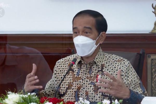 Jokowi bicara terkait vaksin untuk anak