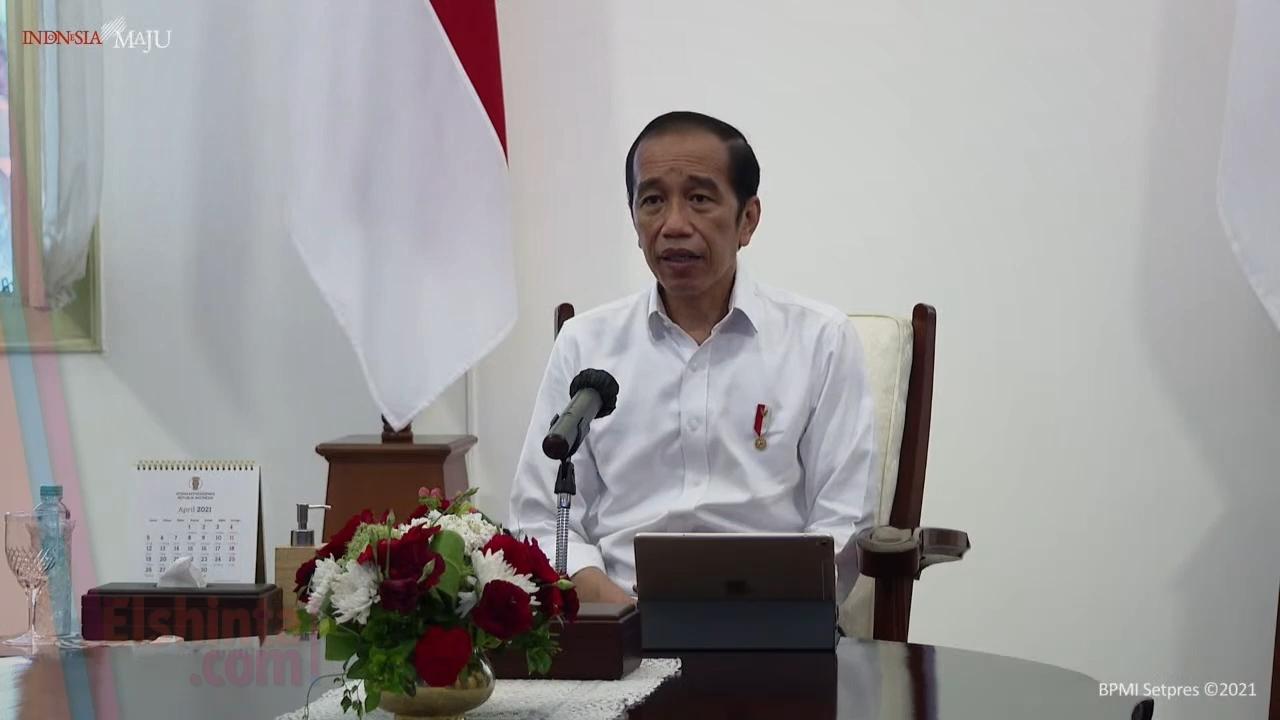 Presiden menyampaikan poin-poin penting untuk penanganan bencana di NTT dan NTB