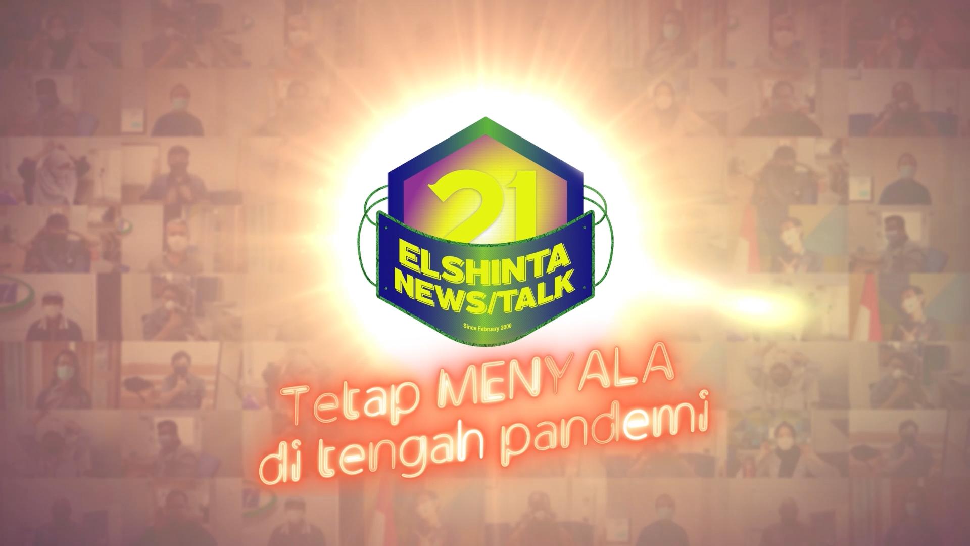 Terima kasih atas perhatian Bapak dan Ibu semua atas ucapan ulang tahun Elshinta N/T ke-21